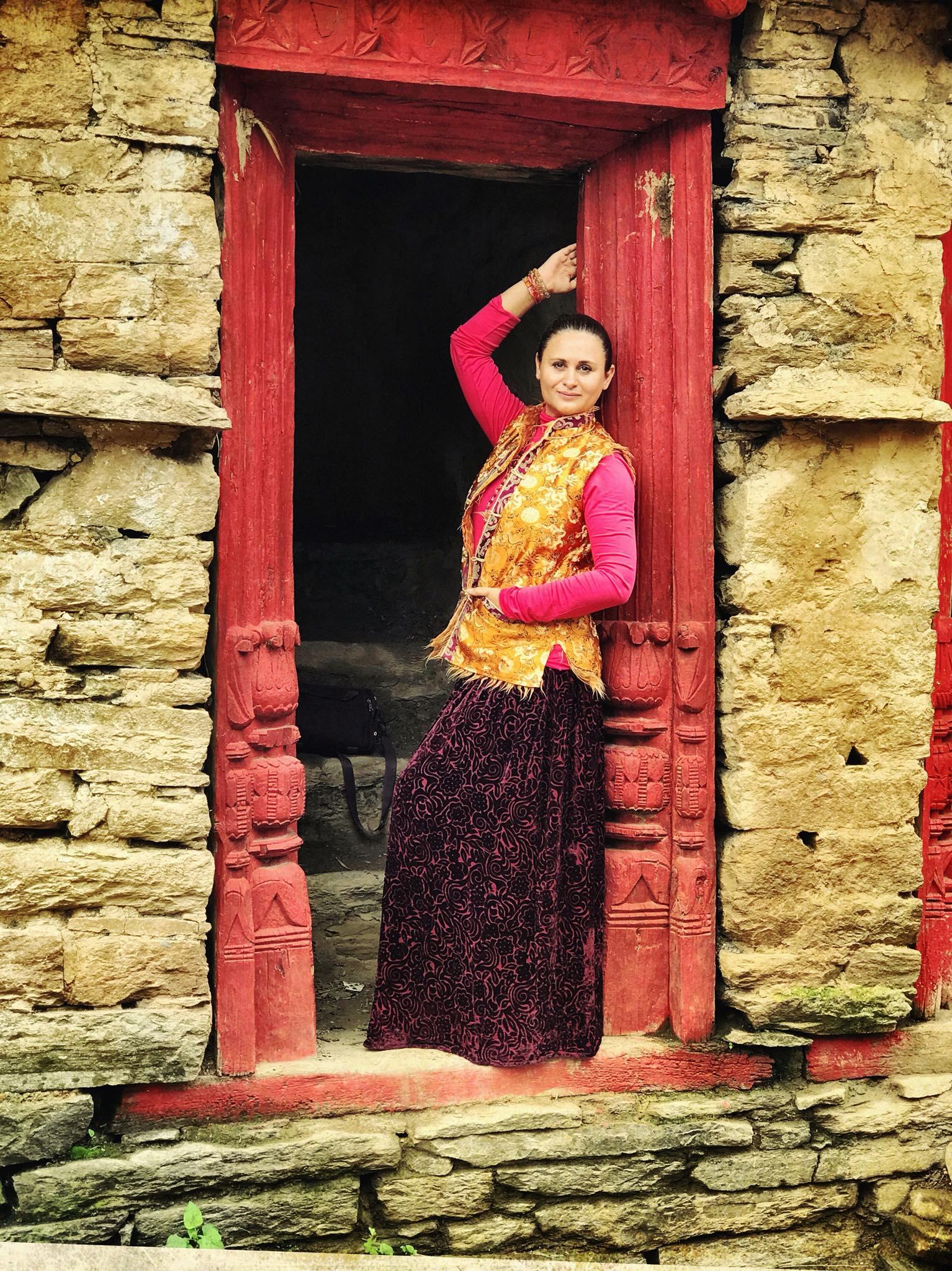 Высокогорная деревня Кхати в сердце Гималаев