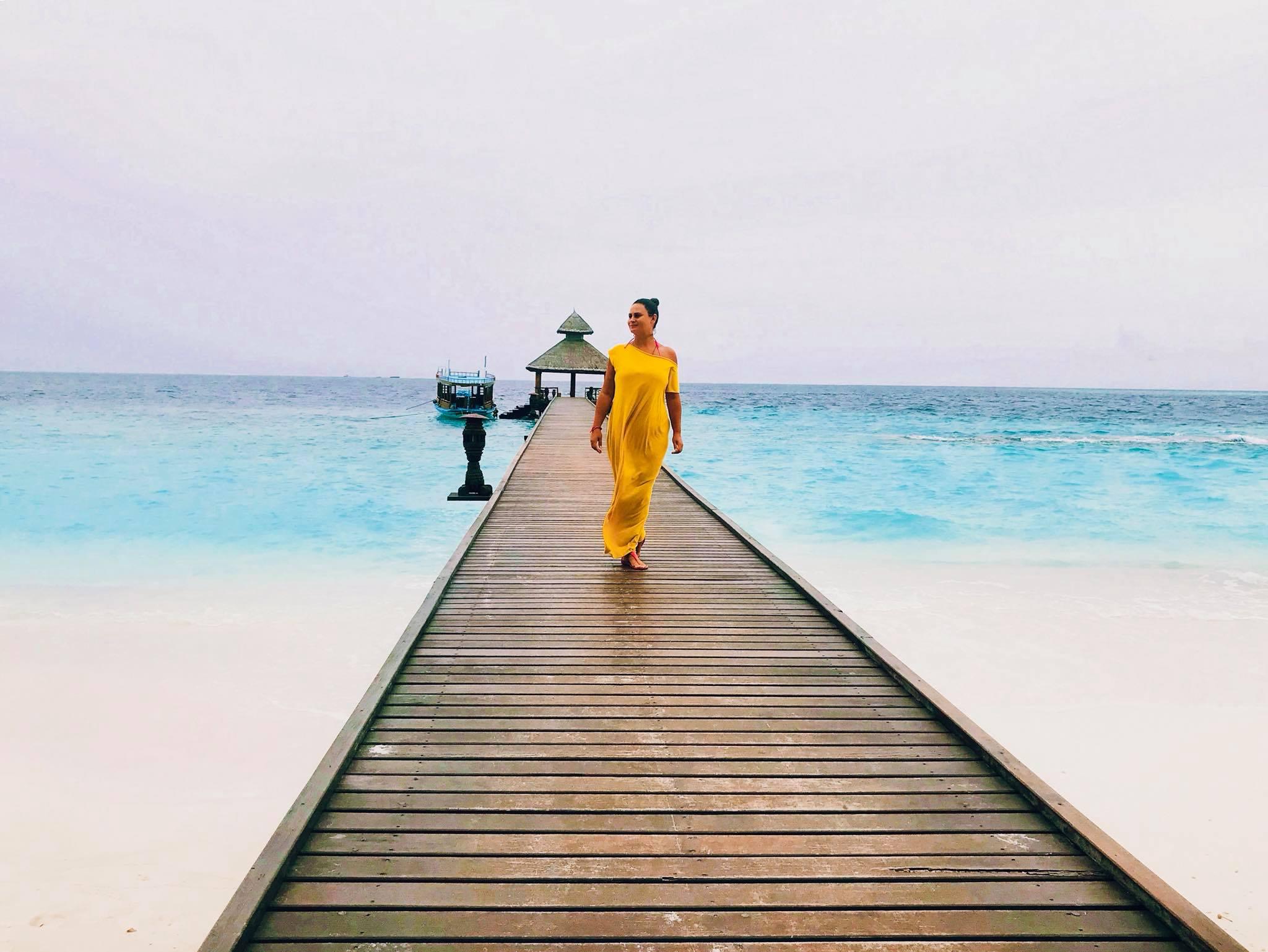 О практике на Мальдивах